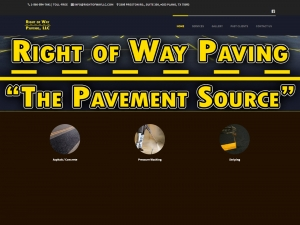 Website Visual - Right of Way Paving